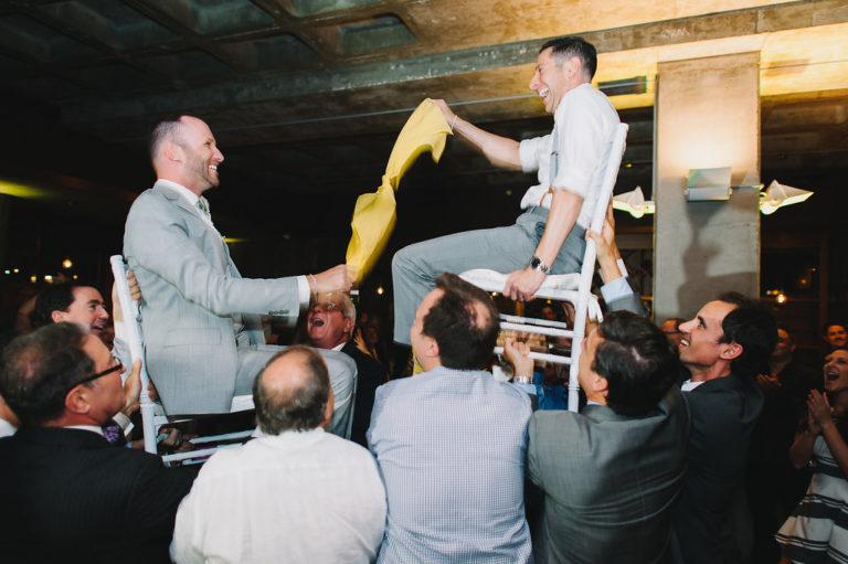grooms dancing horah