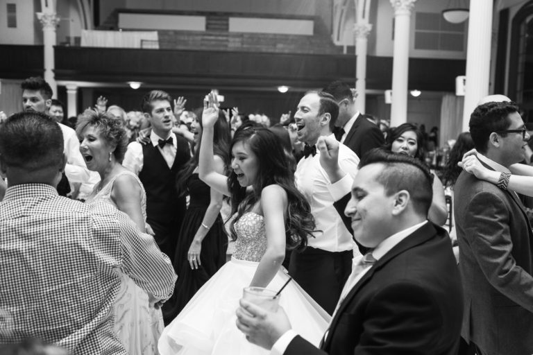 dancing at reception