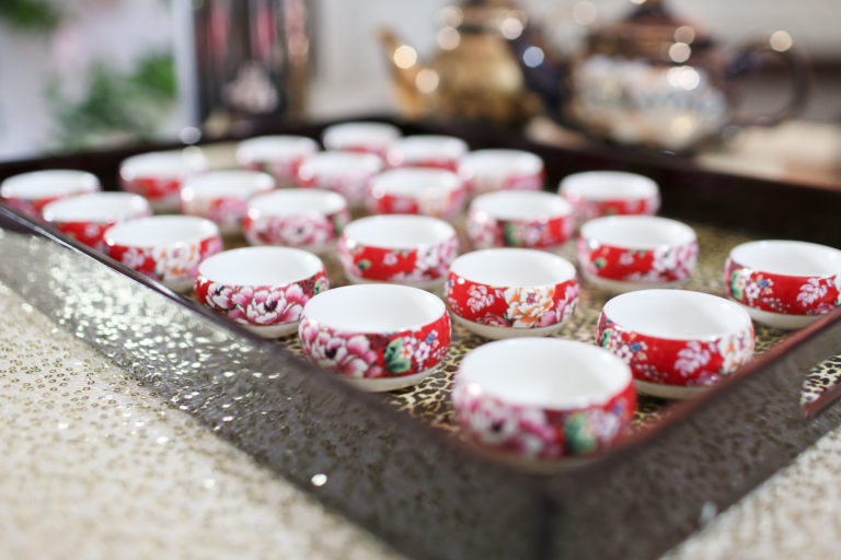 cups for tea ceremony