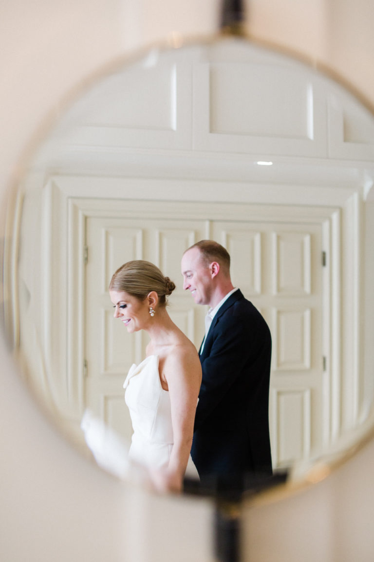 couple in mirror