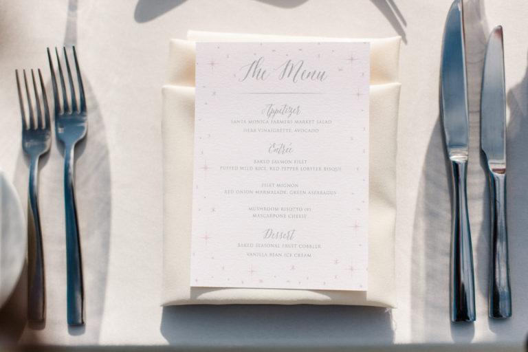 menu setting