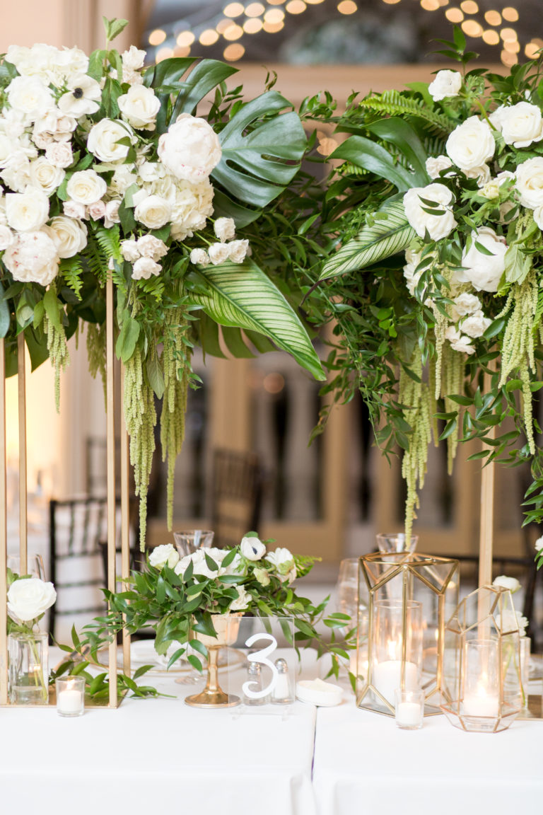 greenery and florals