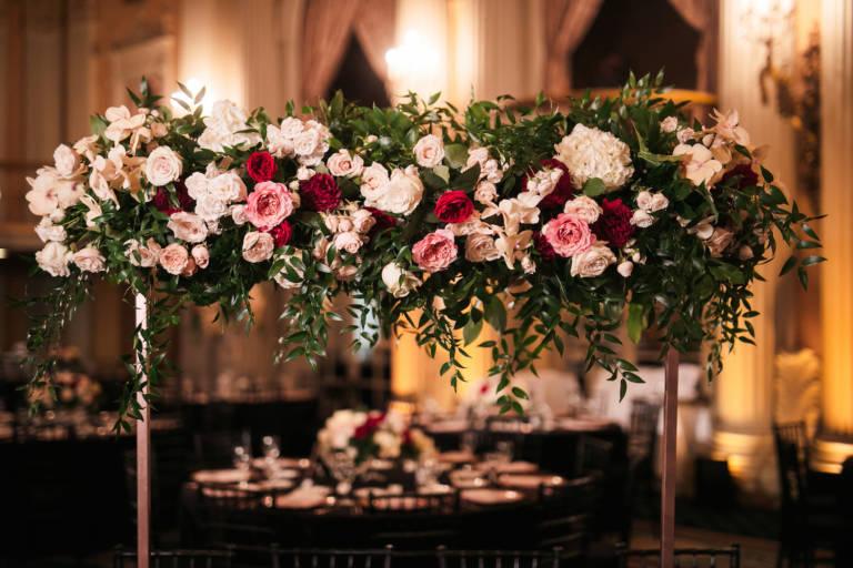biltmore crystal ballroom wedding flowers