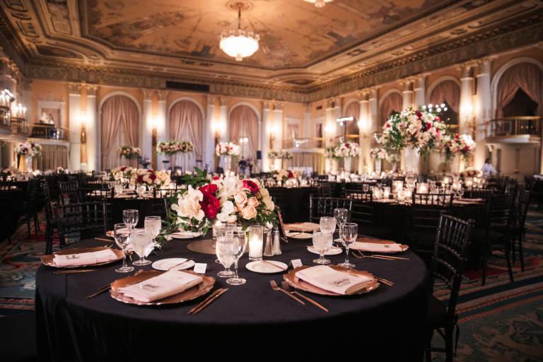 biltmore wedding reception