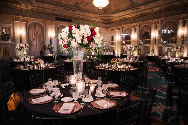 millennium biltmore wedding reception