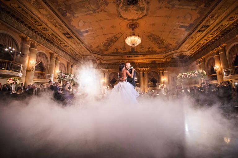 first dance at biltmore wedding