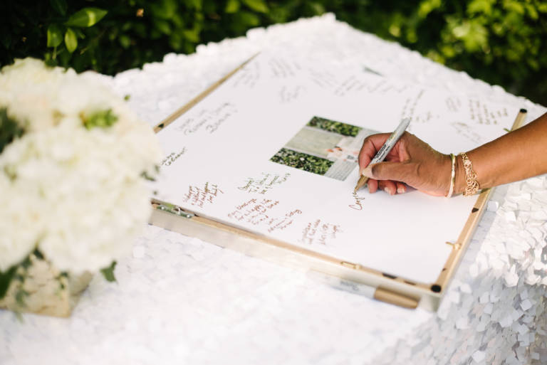 guestbook picture frame