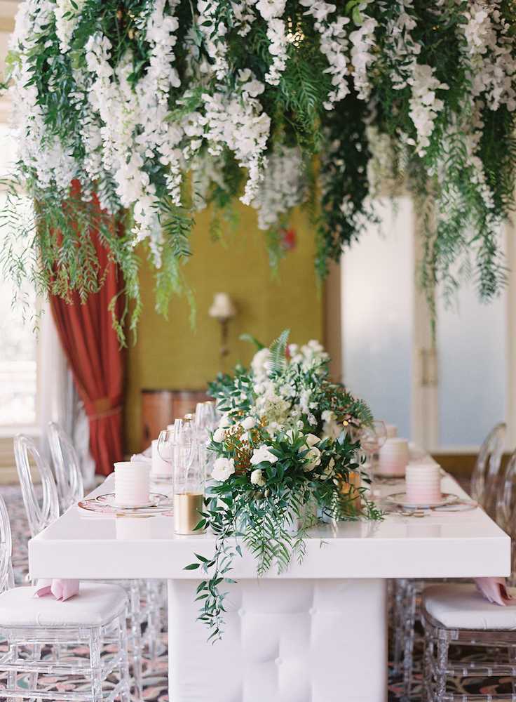 florals for tea party
