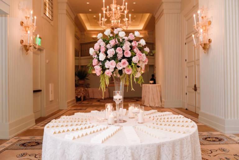 elegant wedding placecards