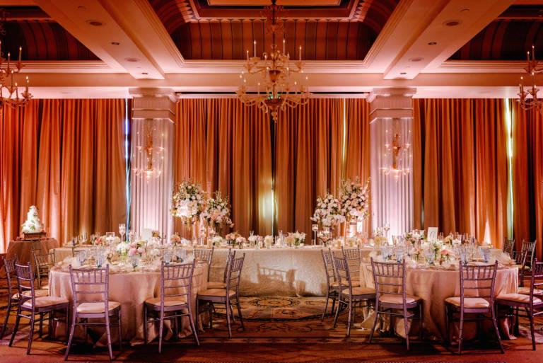casa del mar ballroom reception