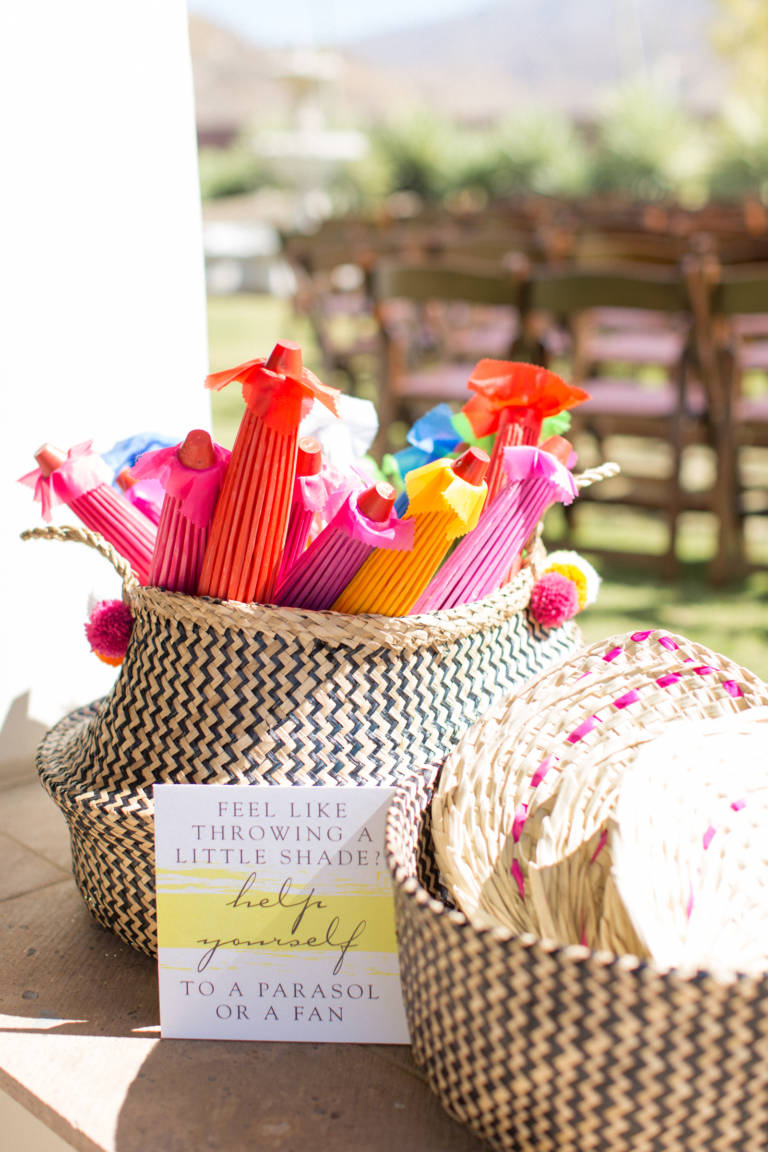 wedding parasols for guests