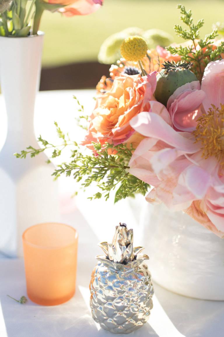 desert wedding flowers