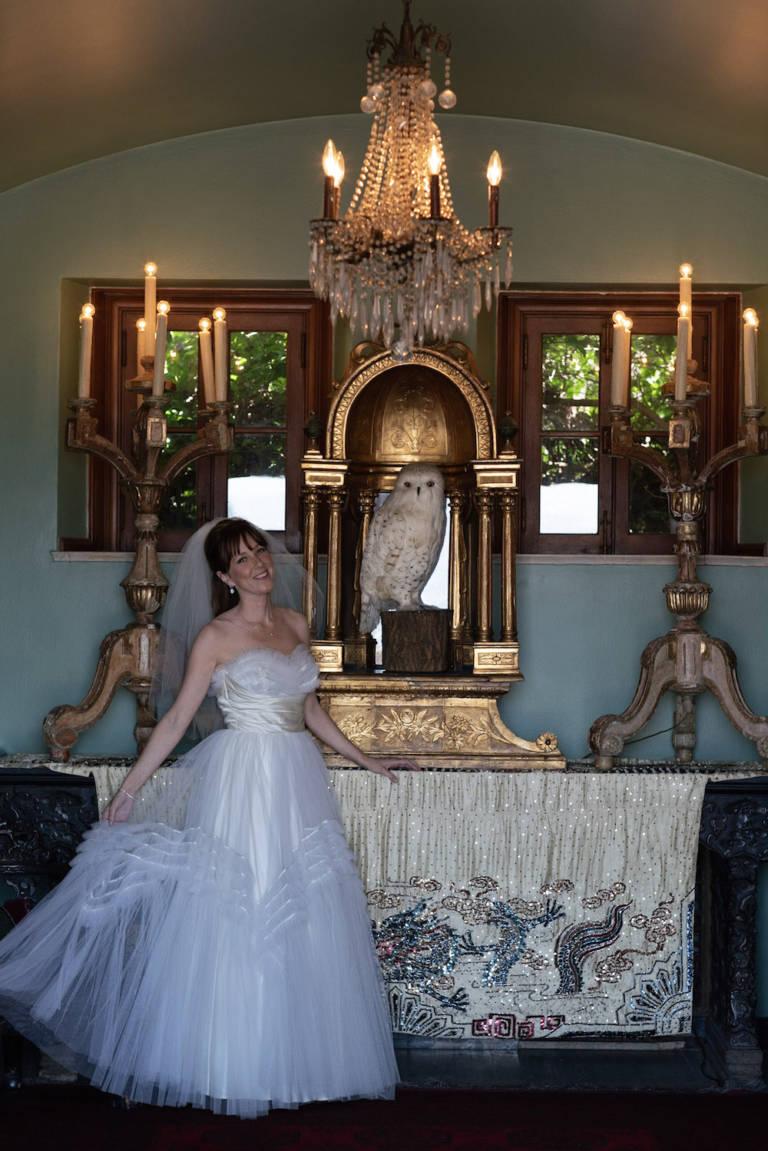 bride at paramour estate
