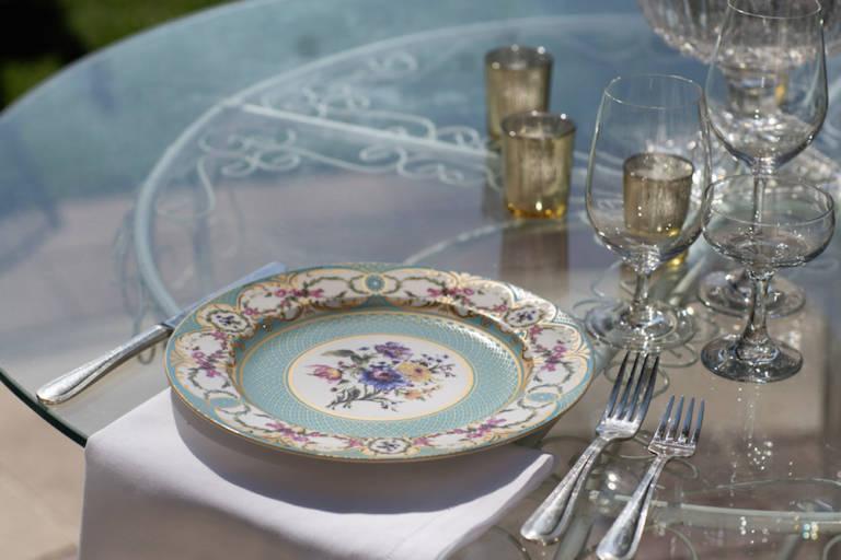 antique wedding dishes