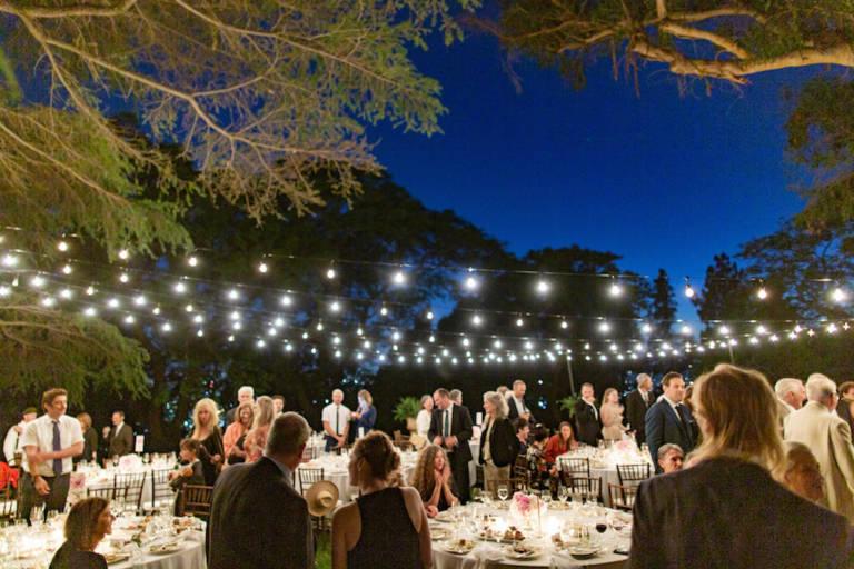 paramour estate evening wedding reception