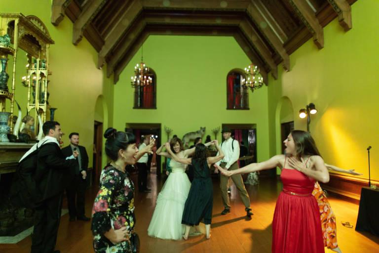 paramour estate wedding dancing