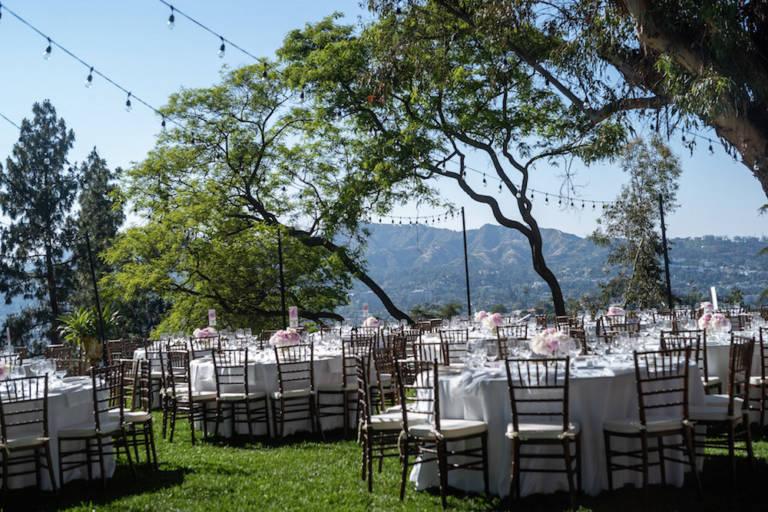paramour estate outdoor wedding ceremony