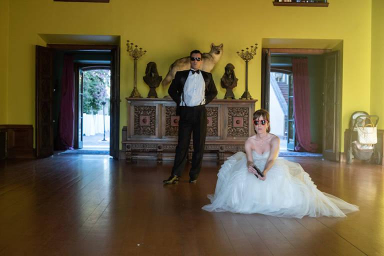 wedding couple paramour estate
