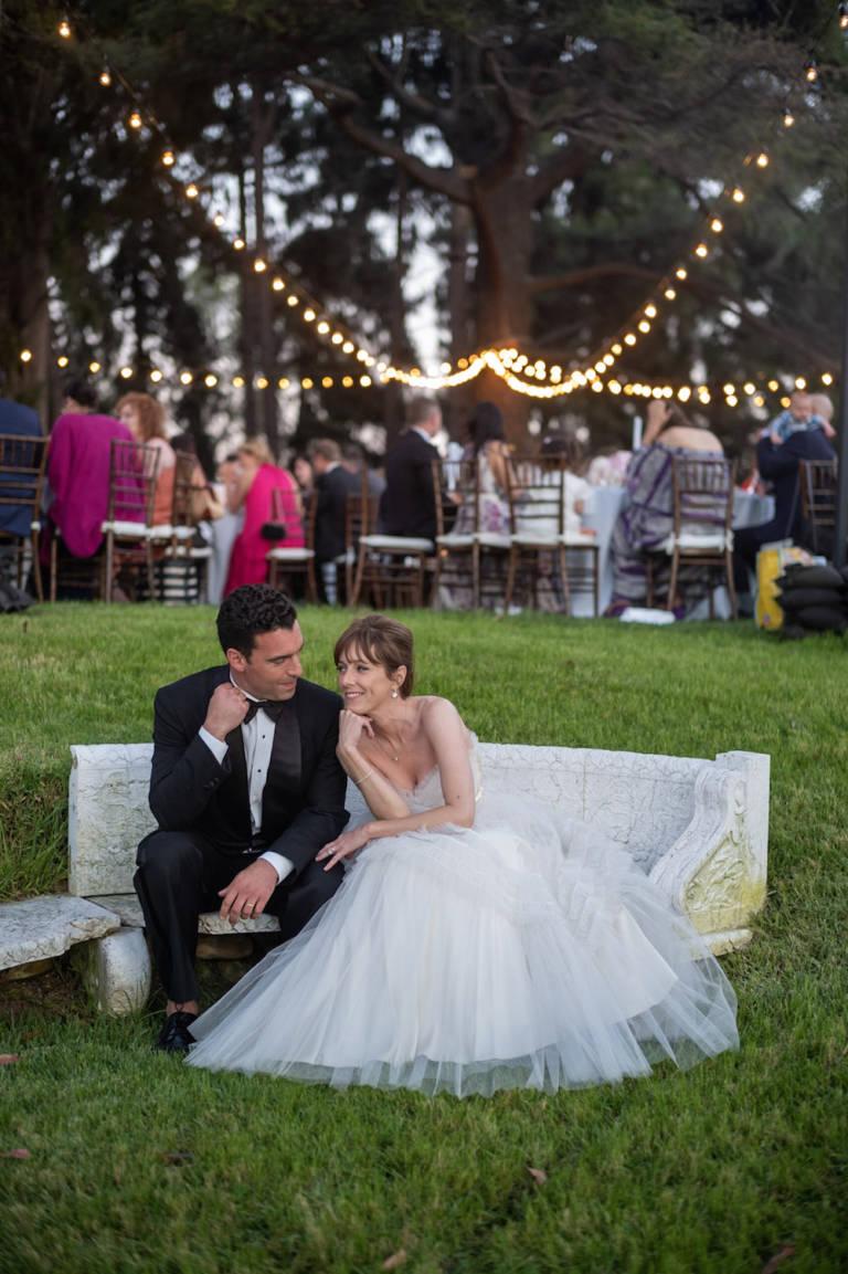 paramour estate wedding couple
