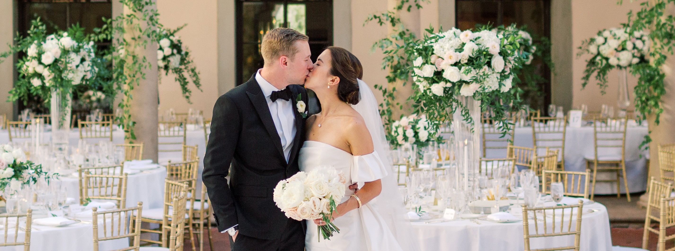 caltech athenaeum bride and groom wedding reception
