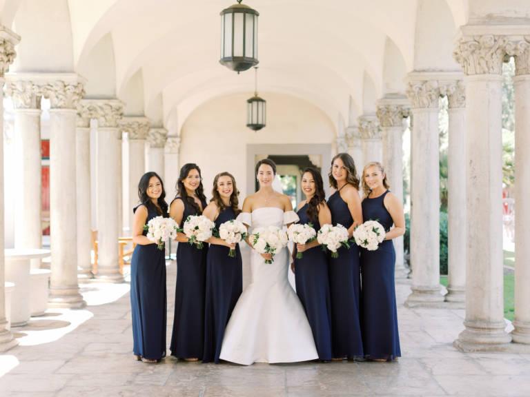 bridesmaids at athenaeum