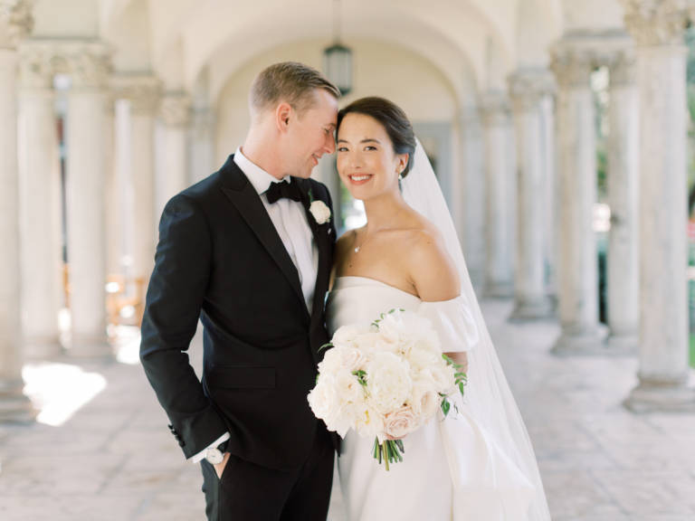 wedding couple at athenaeum