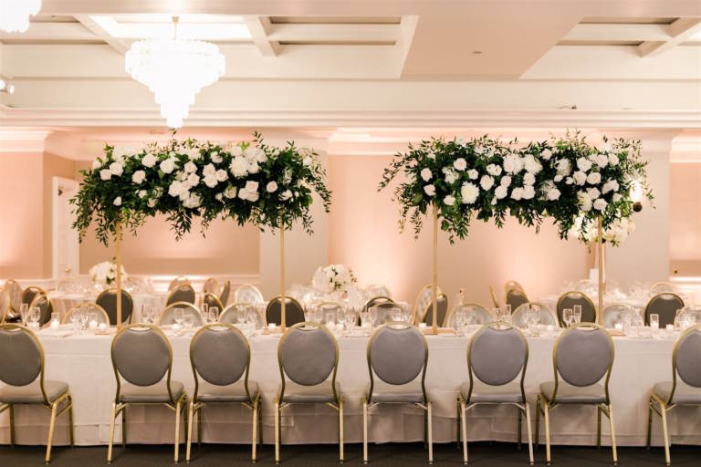 communal wedding table