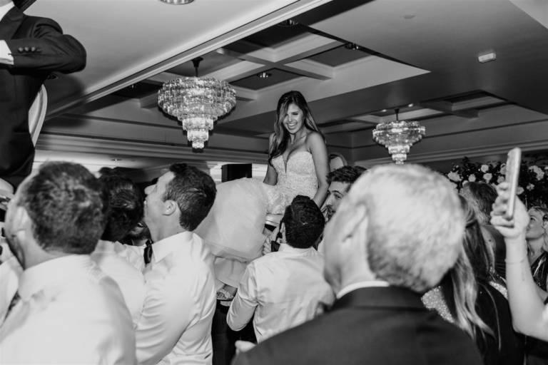 bride dancing the horah