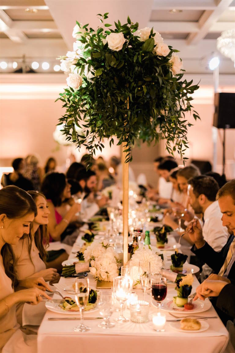 london weho wedding reception