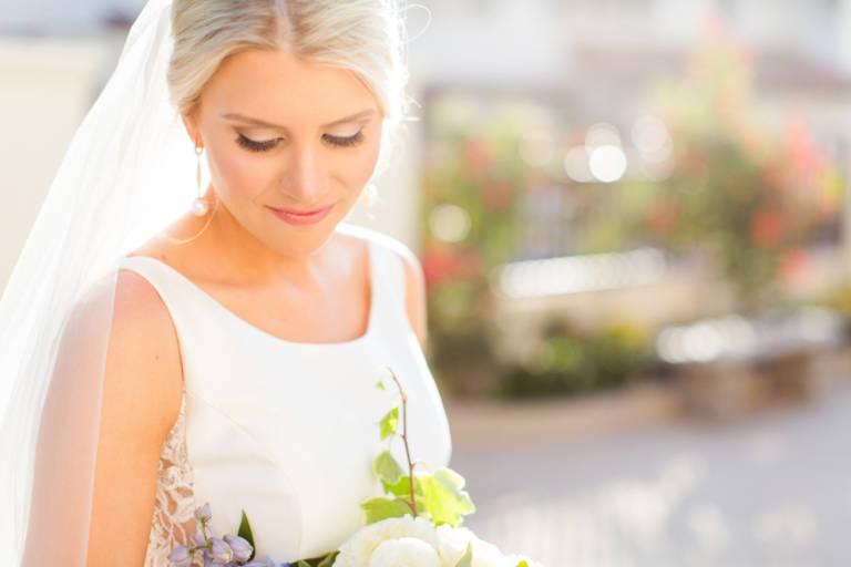 bride at vibiana