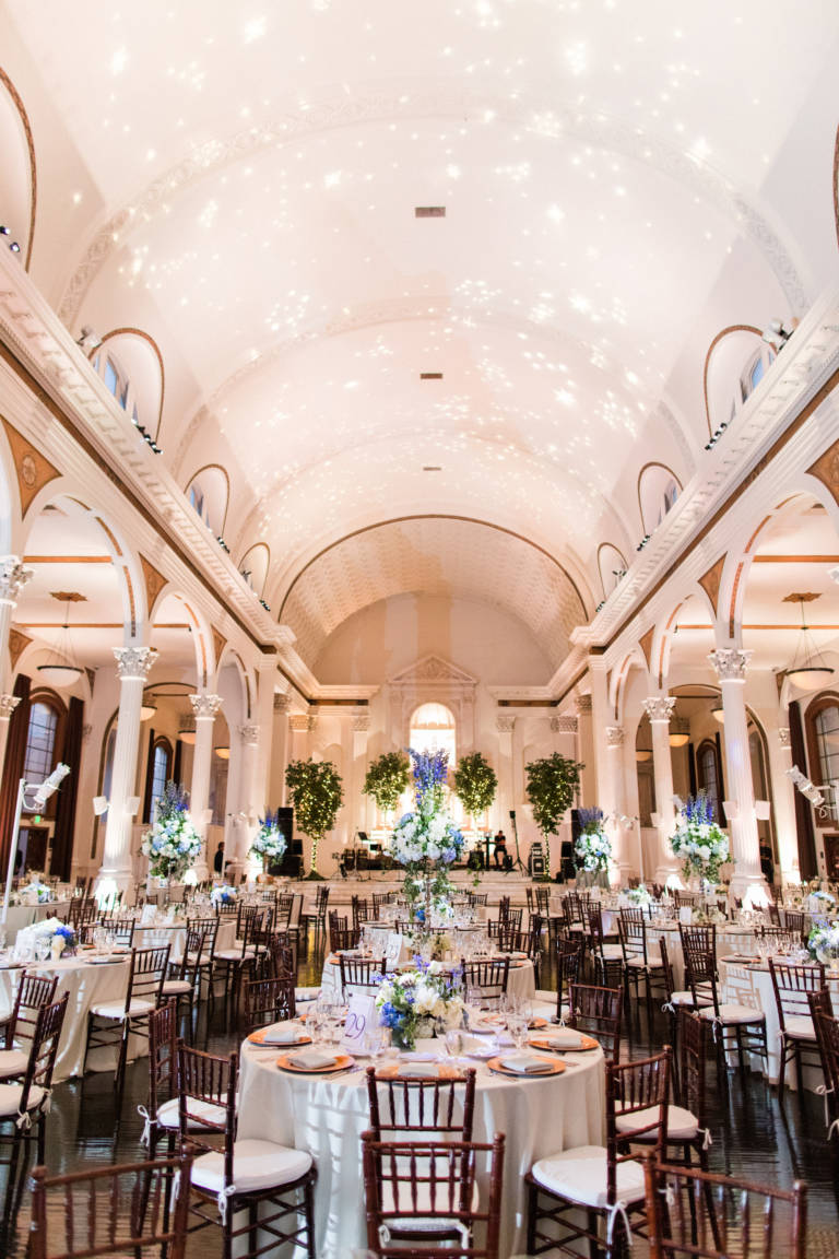 vibiana wedding reception