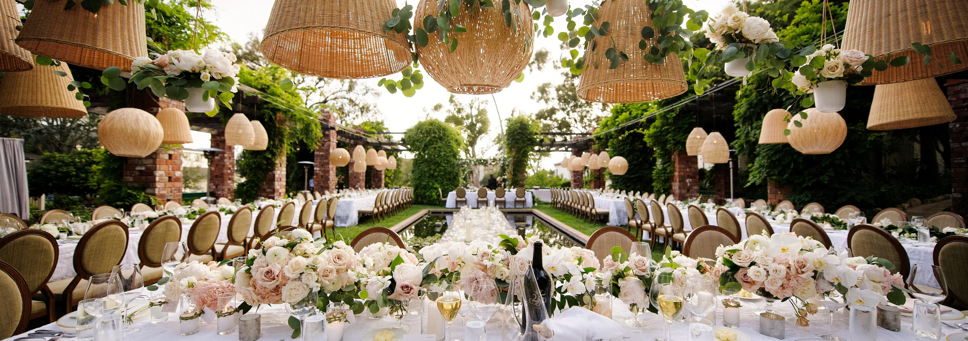 belmond el encanto outdoor wedding reception