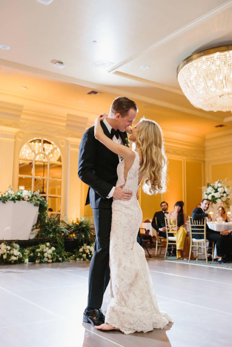 First Dance Ballroom Wedding