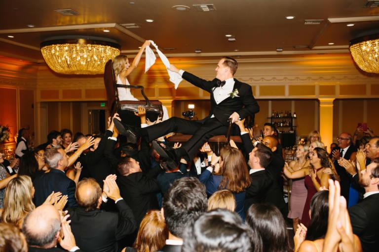 Ballroom Wedding Horah