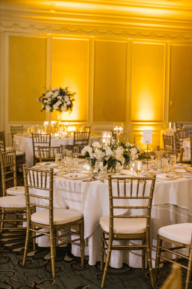 Fairmont Miramar Ballroom Wedding