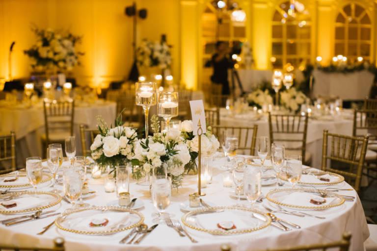 Fairmont Miramar Wedding Table