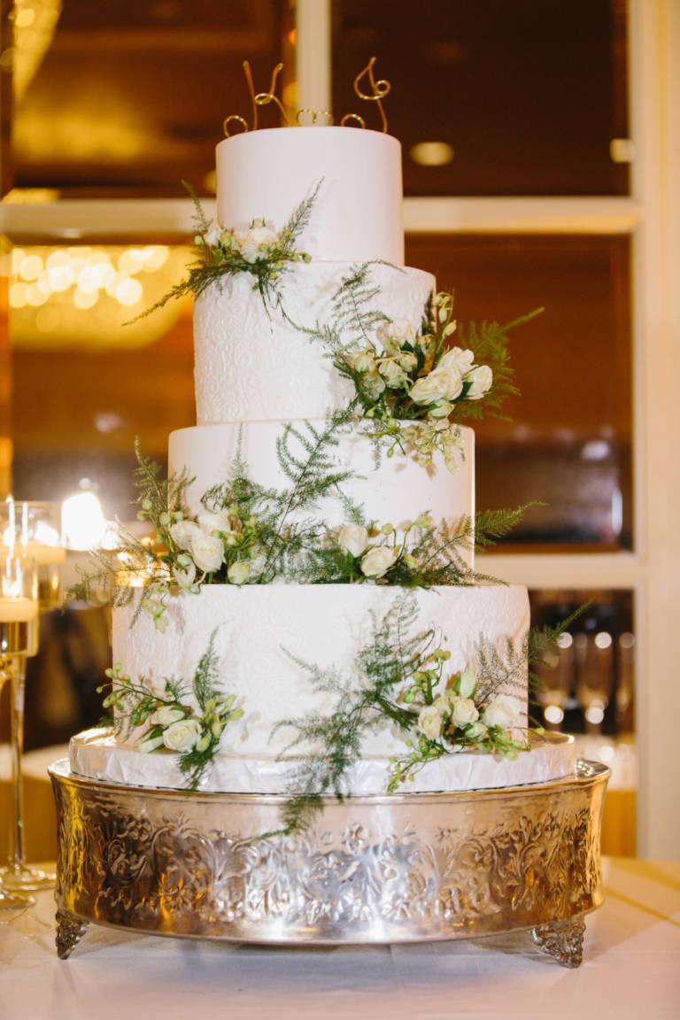 4 Tier Wedding Cake