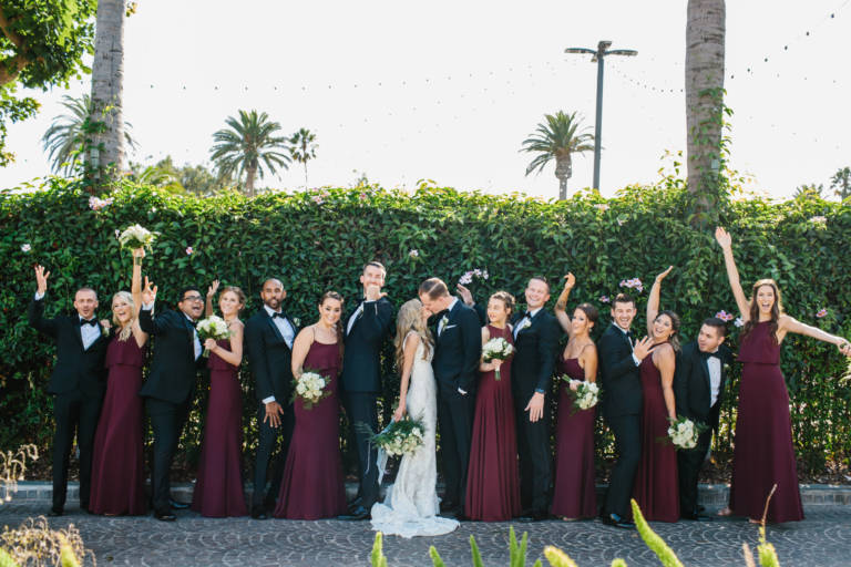 Fairmont Miramar Bridal Party