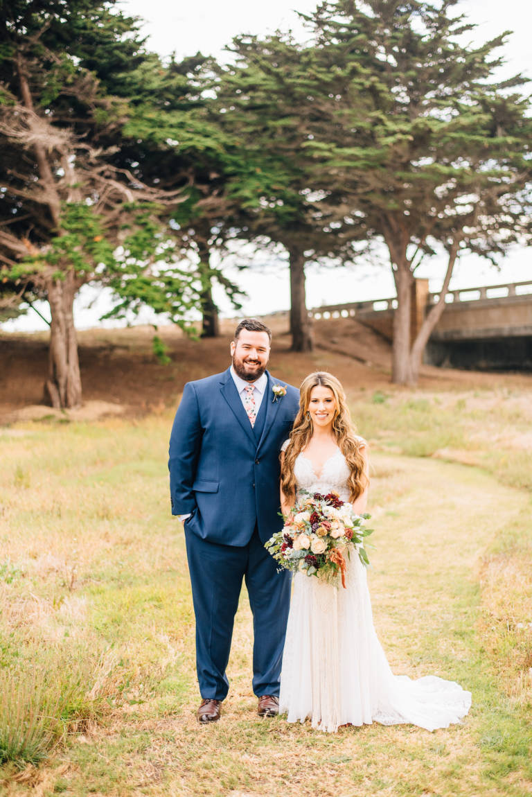 Oceanpoint Ranch Wedding Couple