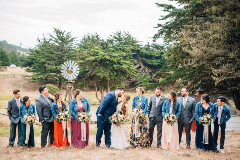 Oceanpoint Ranch Wedding Party