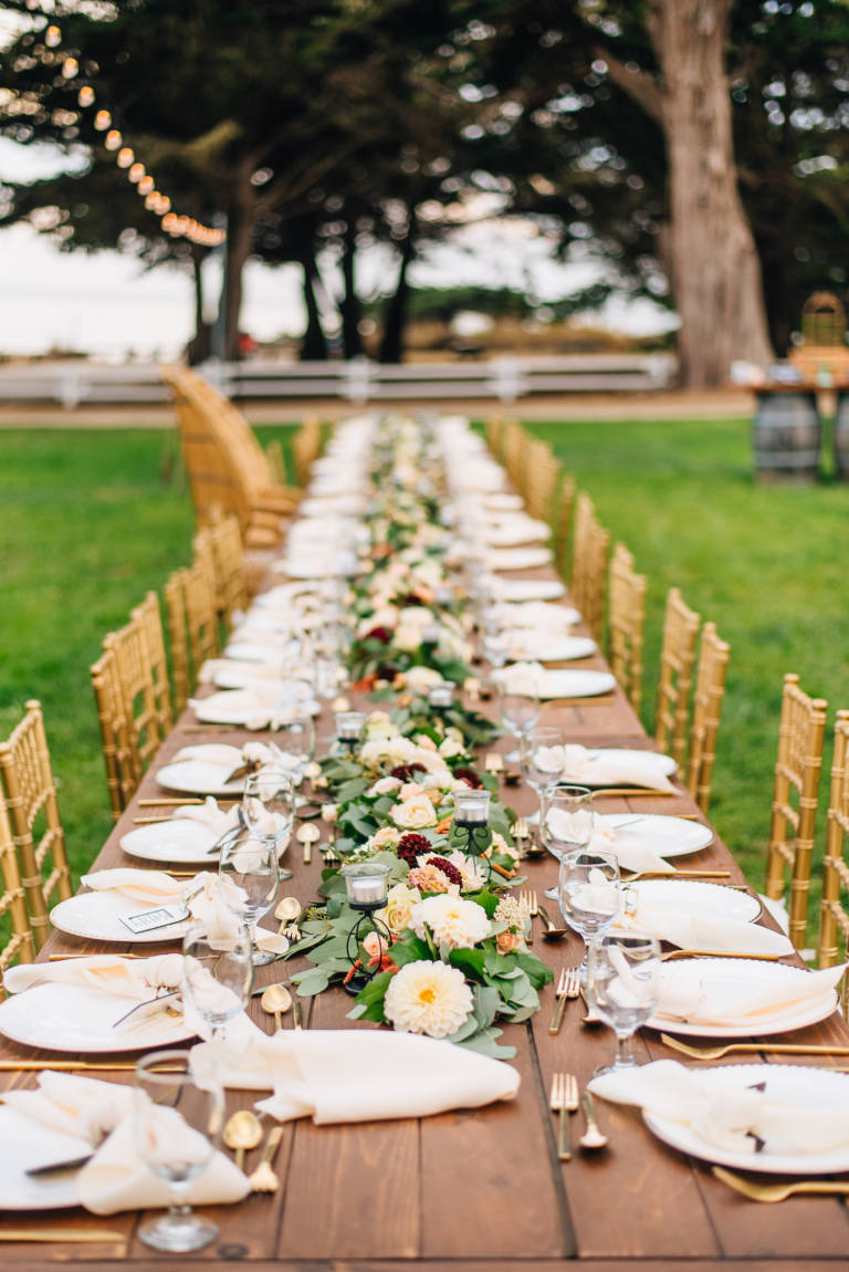 Wedding Reception Long Table