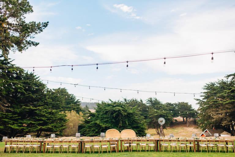 Oceanpoint Ranch Wedding Reception