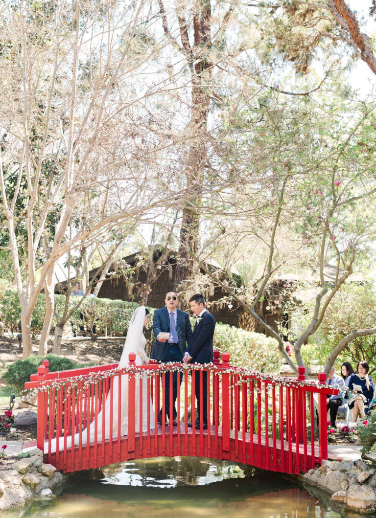 Wedding Ceremony on Bridge