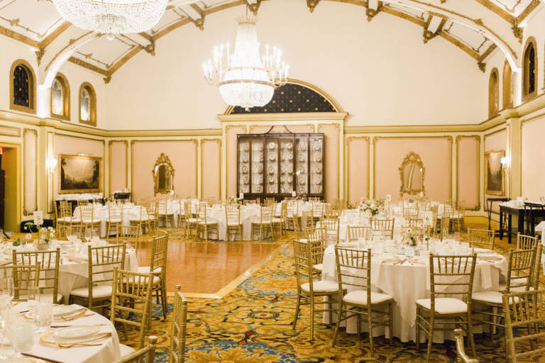 Langham Pasadena Ballroom Wedding Reception